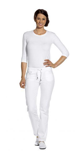 LEiBER classic style Damenhose weiß - 5-Pocket-Jeans stretch - 08-6980