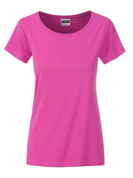 Damen Shirt pink Bio-Baumwolle Tradition Daiber