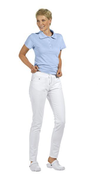 LEiBER slim style Damenhose weiß 5-Pocket-Form stretch 08-1061 lange Größe