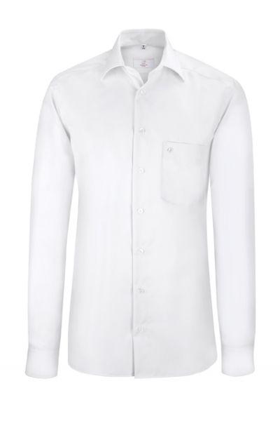 GREIFF premium - style 6617 Herrenhemd extra langarm regular fit in weiß