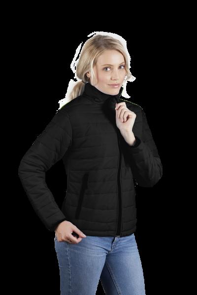 Wattierte Damen Jacke schwarz