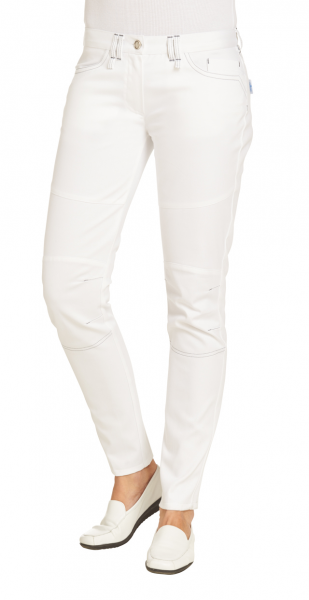 Damen Jeans weiß Leiber