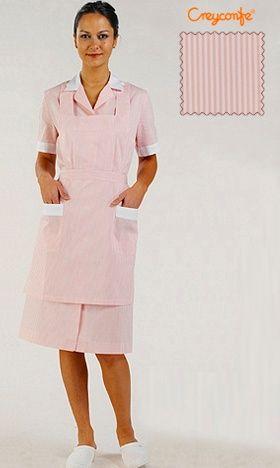 Zimmermädchenkleid pink Hellin Creyconfe