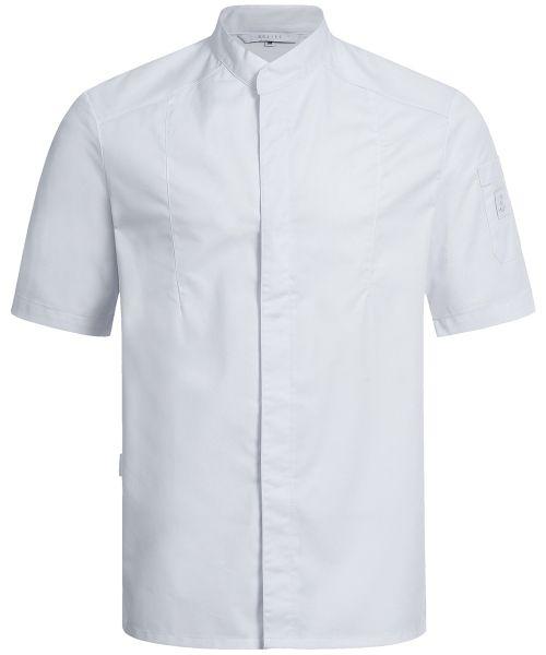 Herren Kochjacke einreihig Kurzarm regular fit | GREIFF Premium 5573