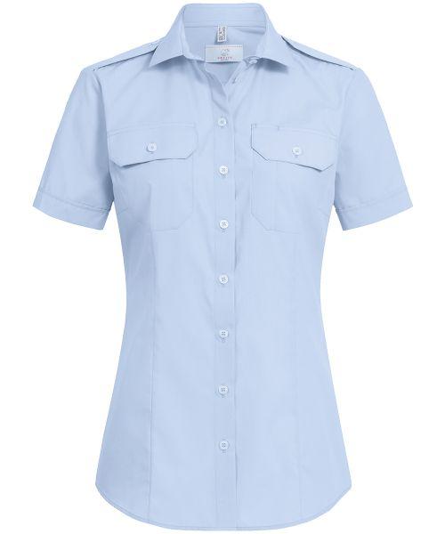Damen Pilotbluse regular fit Kurzarm | GREIFF Basic 6571