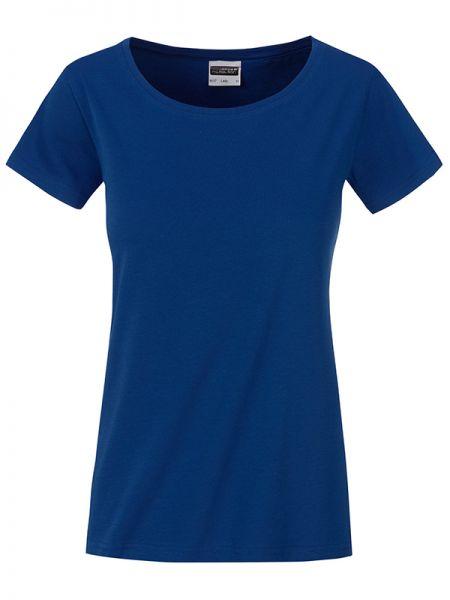 Damen Shirt dark-royal Bio-Baumwolle Tradition Daiber