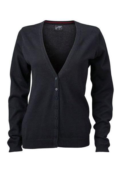 Damen Cardigan - schwarz