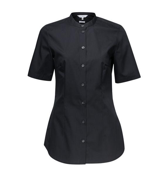 Damen Bluse - Judi - schwarz kurzarm | KÜMMEL
