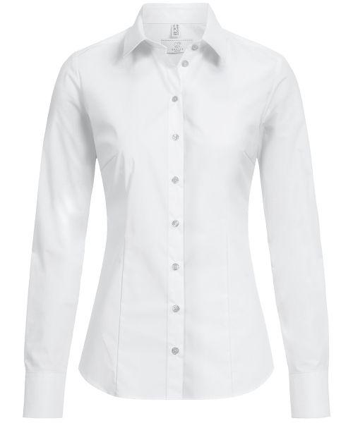 Strapazierfähige Damen Bluse slim fit | GREIFF Basic 6510