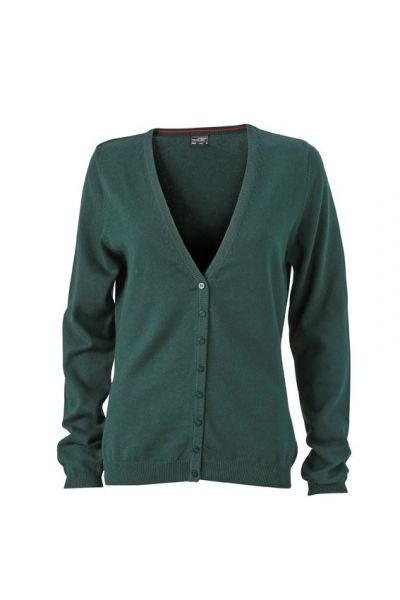 Damen Cardigan - forest