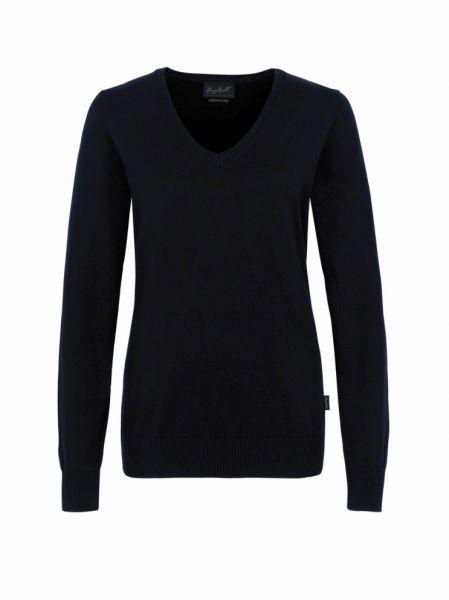 HAKRO Strick Nr. 133 Damen V-Ausschnitt Strick Pullover in 4 Farben