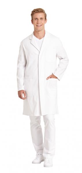 Unisex Arztkittel weiß Leiber