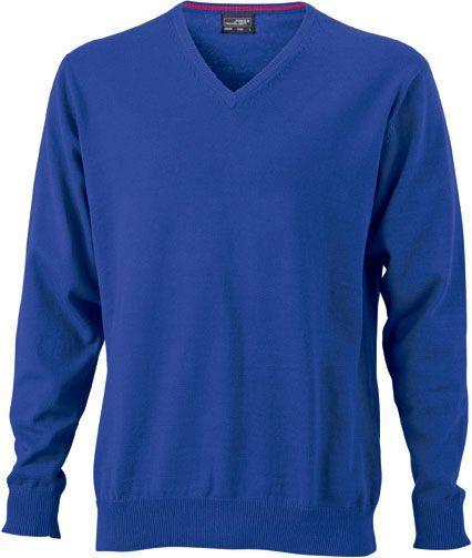 Herren Pullover - royal-blau