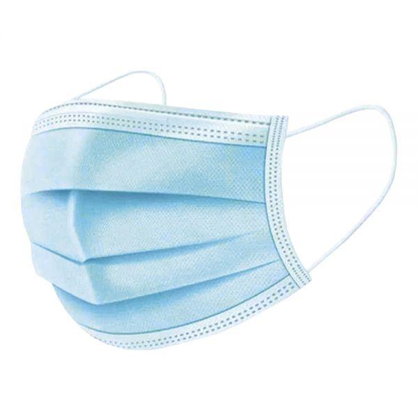 Medizinischer Mund-Nasenschutz - 3-lagig (TYP II) - OP-Maske in blau mit CE-Kennzeichnung - KiP