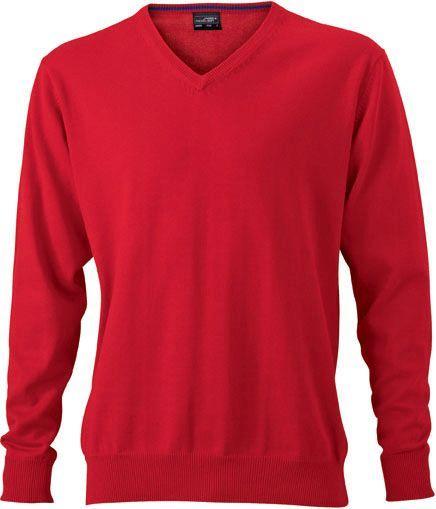 Herren Pullover - rot