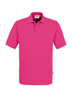 Herren Polo Performance in Magenta