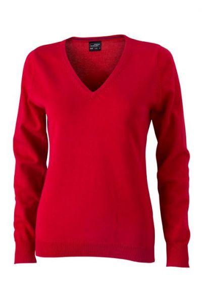 Damen Pullover - rot
