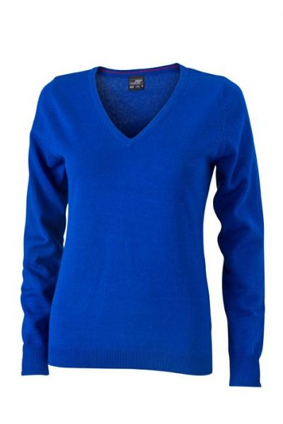 Damen Pullover - royal-blau