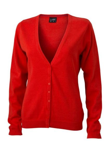 Damen Cardigan - orange