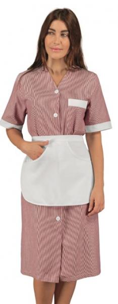 Modernes Zimmermädchenkleid Hauskleid Michelle - viele Farben | isacco 007133G