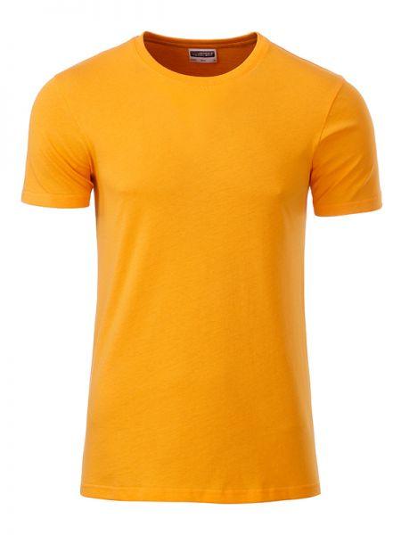 Herren Shirt goldgelb Bio-Baumwolle Tradition Daiber