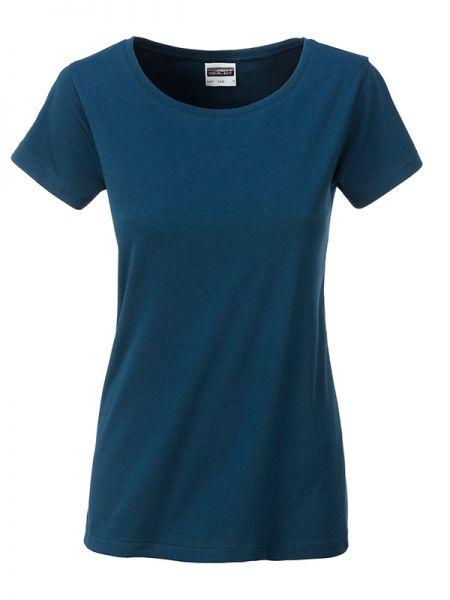 Damen Shirt petrol Bio-Baumwolle Tradition Daiber