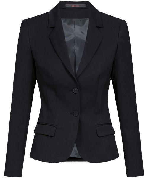 Strapazierfähiger Business Damen Blazer slim fit | GREIFF Basic 1434