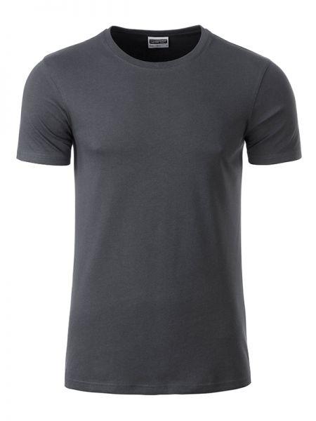 Herren Shirt graphite Bio-Baumwolle Tradition Daiber