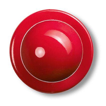 GREIFF - style 5900 Kugelknöpfe für Kochjacken - 12er Pack - rot