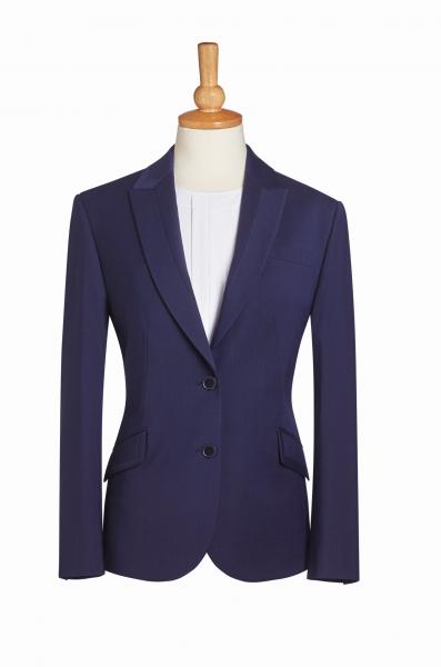 Damen Jacke in Mittelblau