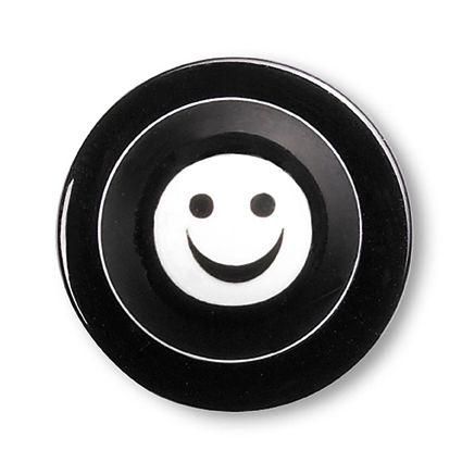 GREIFF - style 5900 Kugelknöpfe für Kochjacken - 12er Pack - smiley lacht