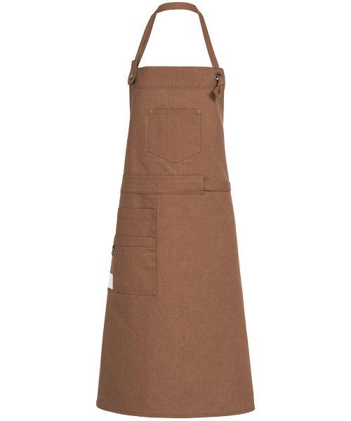 Moderne Latzschürze Canvas für Küche & Gastronomie | GREIFF Service 4047