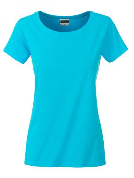 Damen Shirt türkis Bio-Baumwolle Tradition Daiber