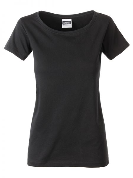 Damen Shirt black Bio-Baumwolle Tradition Daiber