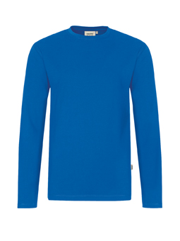 Herren Shirt langarm in Royalblau
