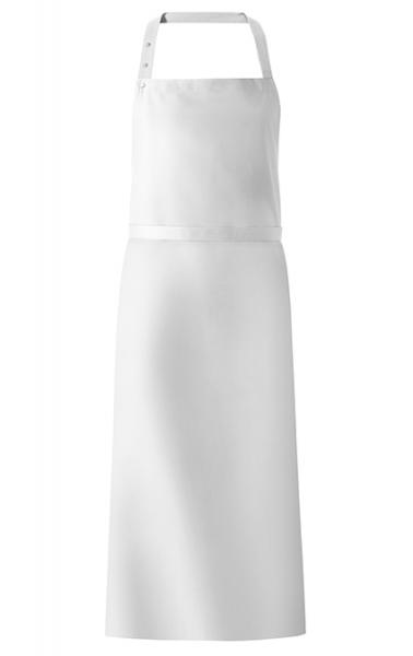 Latzschürze 77x110 cm in Weiß