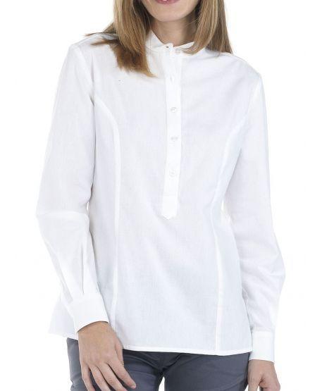 Damen Bluse langarm für Büro Business Hotel | Creyconfe CHICLANA 40773