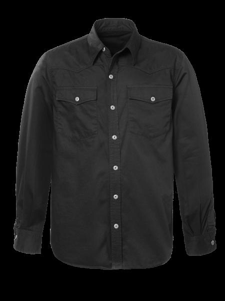 Jeans Hemd für Herren in Schwarz