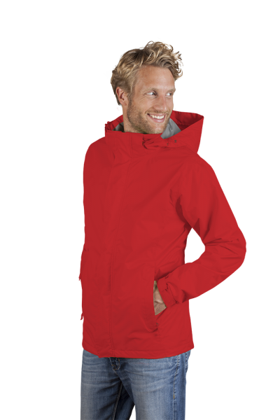 Herren Performance Jacke fire red