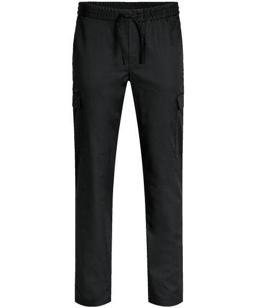 Herren-Cargohose schwarz regular fit | GREIFF Premium 5336