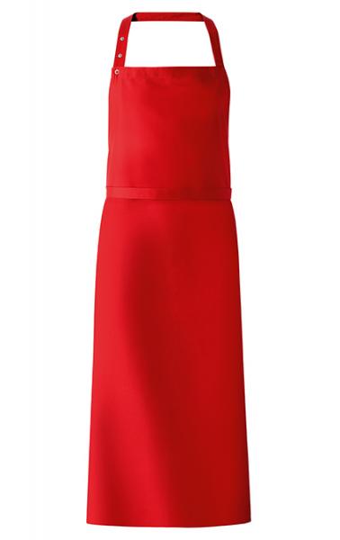 Latzschürze 77x110 cm in Rot