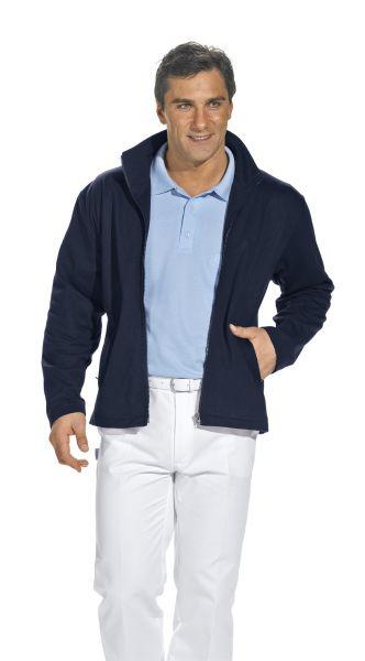 LEiBER Sweatjacke für Herren 12-1095 in weiß oder marine