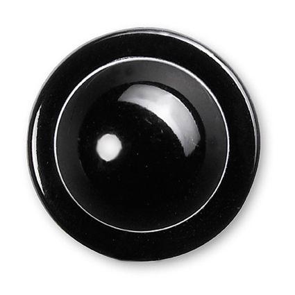GREIFF - style 5900 Kugelknöpfe für Kochjacken - 100 x 12er Pack - schwarz