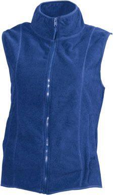 Damen Fleece Weste - königsblau