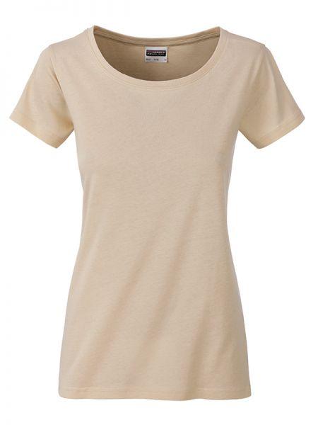 Damen Shirt beige Bio-Baumwolle Tradition Daiber