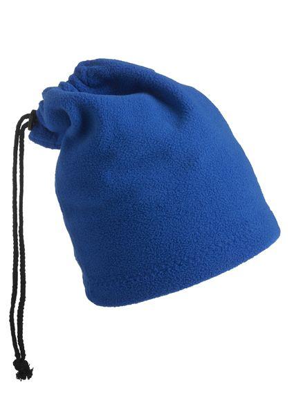 Balaclava - Mütze und Schal in einem – blau