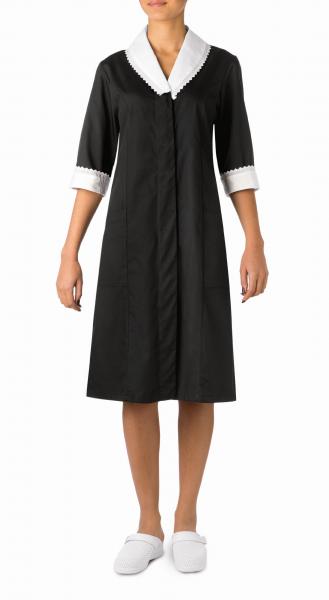 Zimmermädchenkleid Rosalia in schwarz | Giblor´s