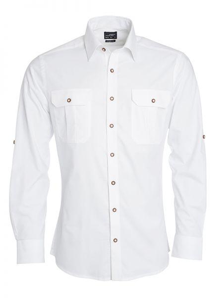Herren Trachtenhemd weiß Tradition Daiber