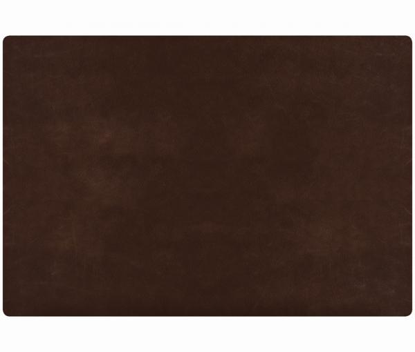 Leder - Tischset im Rustic-Style - 4 Stück toffee 655 | 96 EXNER