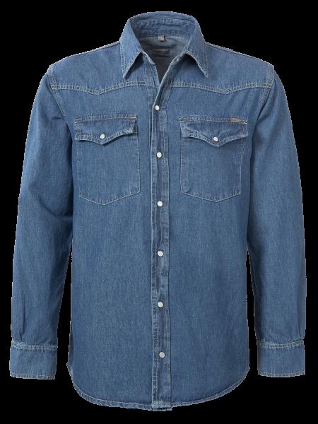 Jeans Hemd für Herren in Blue